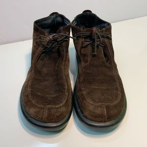 J. Crew Suede Leather Ankle Boots Gommus Chukka